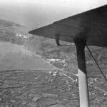 6 agosto 1941. Vista del Campo dal C.R. 42 Foto: Ass. 4° Stormo Gorizia