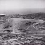 Vista del campo di volo